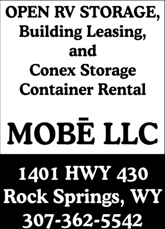 Open RV Storage & Building Leasing