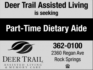 Part-Time Dietary Aide
