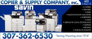 Copier & Supply Company