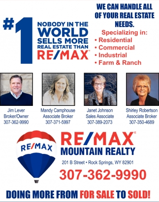 We Can Handle All of your Real Estate Need