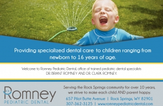 Providing Specialized Dental Care to Children
