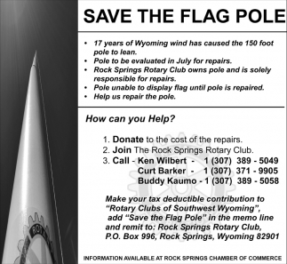 Save the flag Pole