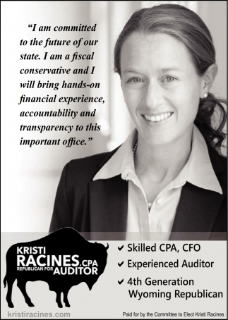Kristi Racines, CPA Republican for Auditor