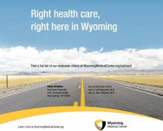 Right Health Care, Right Here in Wyoming