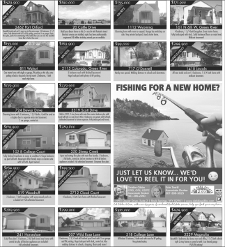 Fishing for a New Home?