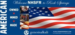 Welcome NHSFR to Rock Springs
