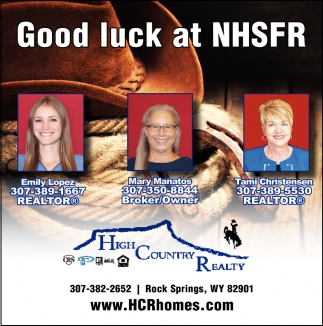 Good Luck at NHSFR