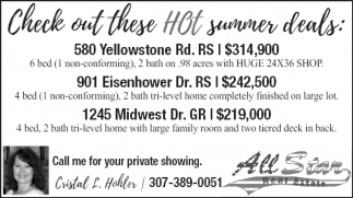 Check Out these Hot Sumer Deals