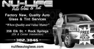 Auto Glass & Tint