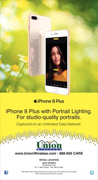 iPhone 8 Plus with Portrait Lighting