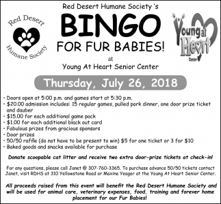 Bingo for Our Fur Babies!