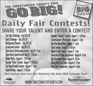 Daily Fair Contests!