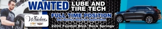 Wanted Lube and Tire Tech