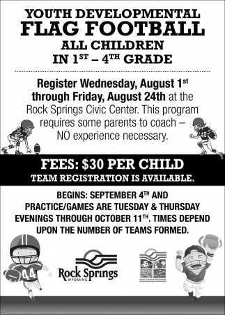 Youth Development Flag Football