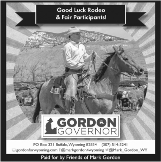 Good Luck Rodeo & Fair Participants!