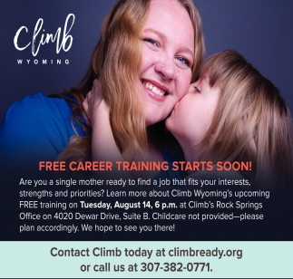 FREE Career Training Starts Soon!