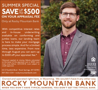 Summer Special Save up to $500
