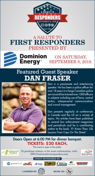 Featured Guest Speaker Dan Fraser