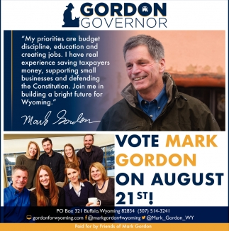 Vote Mark Gordon