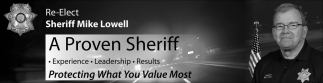 Re-Elect Sheriff Mike Lowell