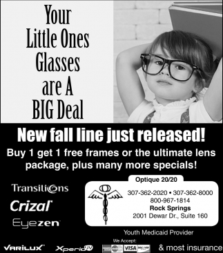 Your Little Ones Glasses are A Big Deal