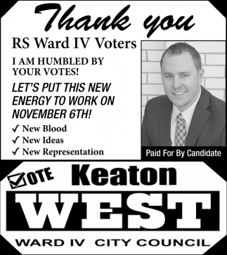 Vote Keaton West