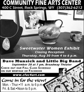 Sweetwater Women Exhibit