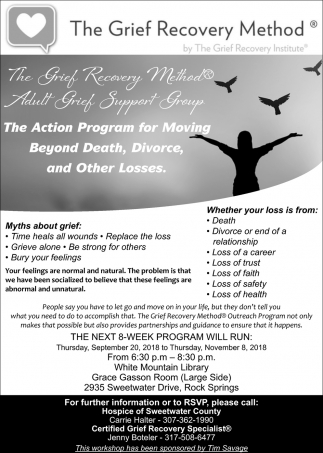 The Action Program for Moving Beyond Death, DIvorce, and Other Losses
