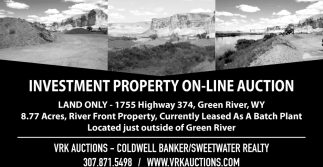 Investment Property On-line Auction