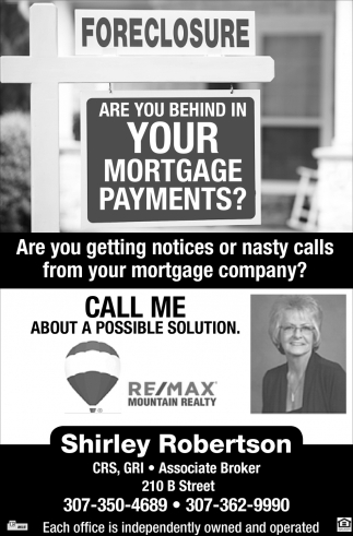 Are you Behind in your Mortgage Payments?