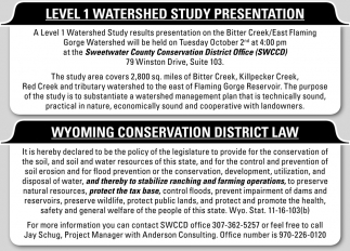 Level 1 Watershed Study Presentation