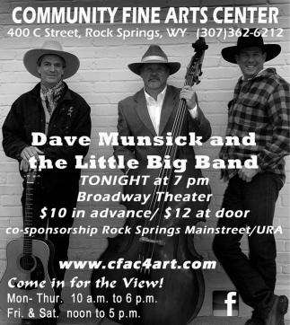 Dave Munsick and the Little Big Band