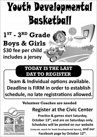 Youth Developmental Basketball