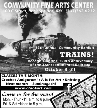 12th Annual Community Exhibit Trains!