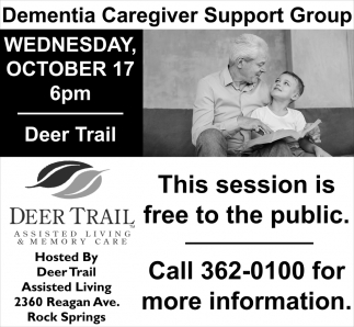 Dementia Caregiver Upport Group