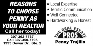 Reasons to Choose Penny as your Realtor