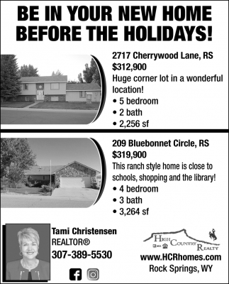 Be in your New Home Before the Holidays!