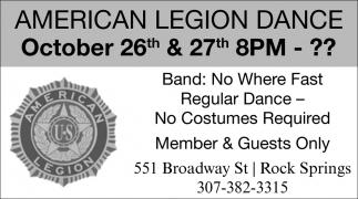 American Legion Dance