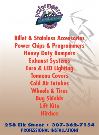 Billet & Stainless Accesories