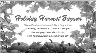 Holiday Harvest Bazaar
