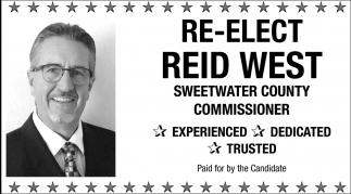 Re-Elect Reid West