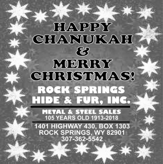 Happy Chanukah & Merry Christmas!