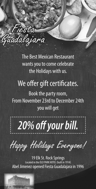 We Offer Gift Certificate