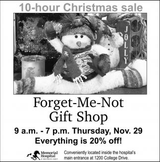 10-Hour Christmas Sale