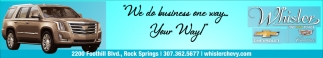 We Do Business Our Way