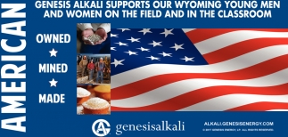 Supports Our Wyoming Young Men and Women on the Fields