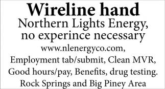 Wireline Hand