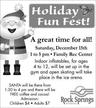Holiday Fun Fest