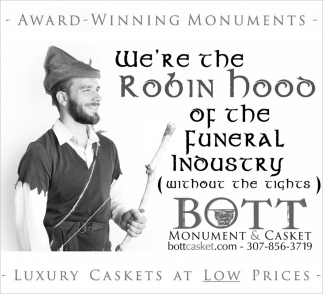 We're the Robin Hood of the Funeral Industry