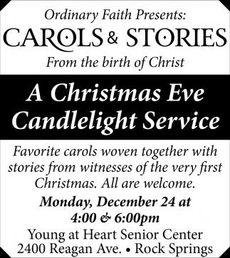 Carols & Stories